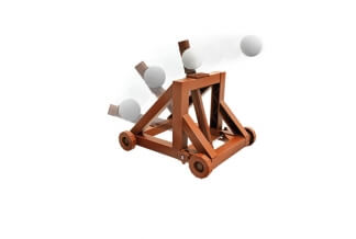 4M Catapult making kit - Catapulta lanzadora