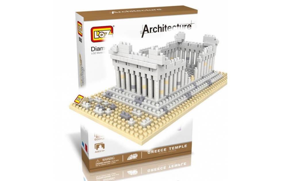 Phanteom Greek Temple - Nano Blocks Construcción LOZ