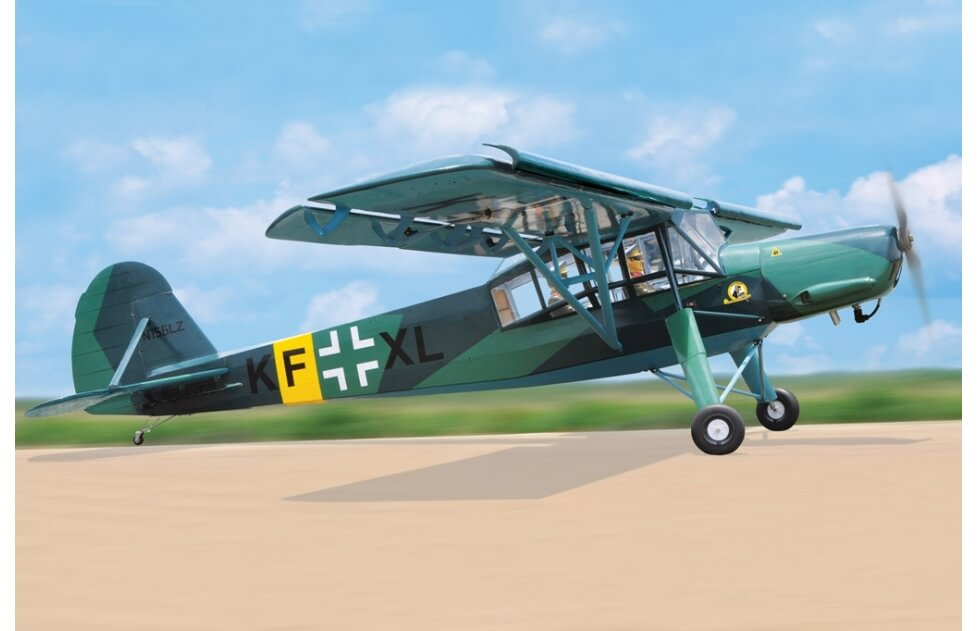 Fieseler Fi156C Storch 2850mm Black Horse