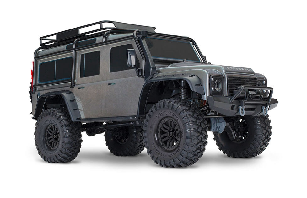 coche rc traxxas trx4 land rover defender 82056 4. Black Bedroom Furniture Sets. Home Design Ideas
