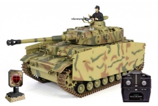 Tanque RC German Panzer IV Ausf. 1/24