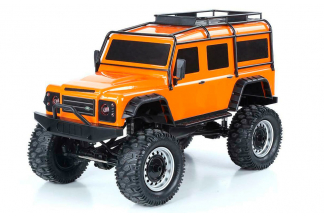 BIG DEFENDER LAND ROVER COCHE RC CRAWLER 4WD 1:8 (HASTA 10KM/H)