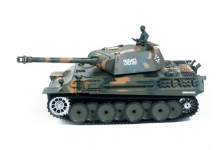 Tanque RC 1:16 German Panther 2.4G (Airsoft + Sonido + Humo)